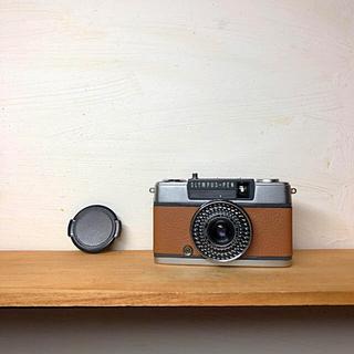 オリンパス(OLYMPUS)のOLYMPAS PEN EE-2【BROWN】整備品、完動品、キャップ付(フィルムカメラ)