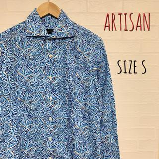 アルティザン(ARTISAN)の美品 ARTISAN アルチザン 総柄シャツ サイズS(シャツ)
