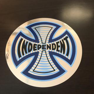 インディペンデント(INDEPENDENT)の【直径10.1cm】independent ステッカー(スケートボード)