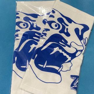 ハンシンタイガース(阪神タイガース)の非売品⭐︎阪神タイガース タオルハンカチ2枚セット(応援グッズ)