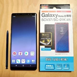 サムスン(SAMSUNG)の【良品】Galaxy Note8 ドコモ SC-01K 判定○ SIMフリー(スマートフォン本体)