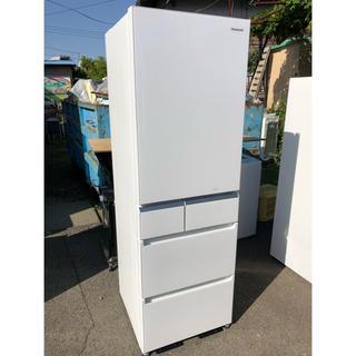 パナソニック(Panasonic)のsaki様専用 Panasonic エコナビ NR-E412PV-W 5ドアー(冷蔵庫)