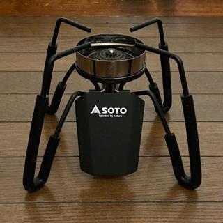 シンフジパートナー(新富士バーナー)のSOTO(ソト) ST-310(黒) レギュレーターストーブ(ストーブ/コンロ)