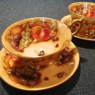 エインズレイ(Aynsley China)のAybsleyエインズレイ オーチャードゴールド アセンズ ティカップ&ソーサー(食器)