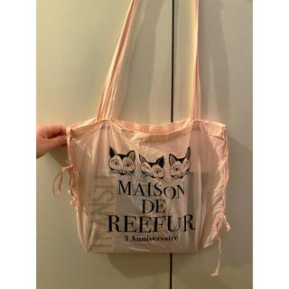 メゾンドリーファー(Maison de Reefur)のMAISON DE REEFUR ショッパー ショップ袋 ねこ🐈🎀(ショップ袋)