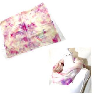 Furla - 新品  カラフル ストール マフラー ピンク 紫