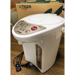 TIGER - タイガー ☘️マイコン電気ポットPDR-A300-WU 3ℓ(動作確認済み)