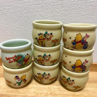 ディズニー(Disney)のプーさん プリン容器 陶器 8個(容器)