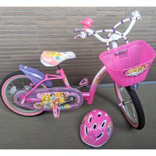 アイデス(ides)のプリンセス 自転車 16インチ 子供用 ディズニー(自転車)