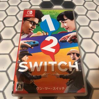 ニンテンドースイッチ(Nintendo Switch)の1-2-switch ソフト 任天堂 SWITCH 動作確認済み(家庭用ゲームソフト)