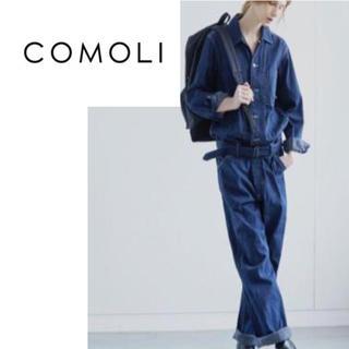 コモリ(COMOLI)のCOMOLI / ジャンプスーツ / オールインワン / デニム(サロペット/オーバーオール)