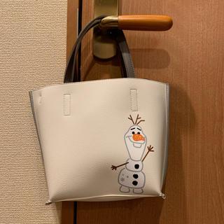 ディズニー(Disney)のディズニー アナと雪の女王 オラフ カラーズコラボ2wayバッグ(ハンドバッグ)