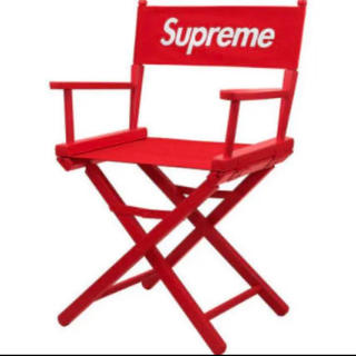 Supreme - Director's Chair 赤 red ディレクターズ チェアー