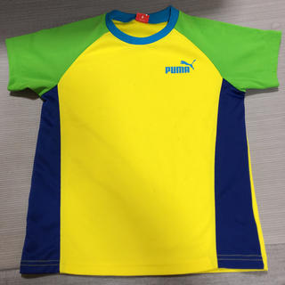 PUMA プーマ 半袖 練習着 ウェア 140cm(Tシャツ/カットソー)