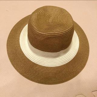 ジーユー(GU)のGU 麦わら帽子 ストローハット カンカン帽(麦わら帽子/ストローハット)