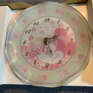 ディズニー(Disney)のガラスロック ミニー(置時計)