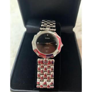 ラドー(RADO)のRADO jubileラドー ジュビリー クォーツ 3p ダイヤ(腕時計(アナログ))