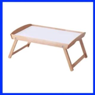 イケア(IKEA)のIKEA DJURA ジューラ ベッドトレイ ゴムノキ (折たたみテーブル)