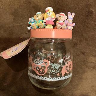 ディズニー(Disney)の【Ruru様専用】ハートウォーミングデイズ 瓶 ダッフィー &フレンズ(容器)
