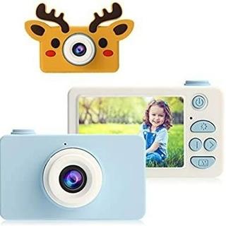 【2400万画素 2インチ】子供用デジタルカメラ 子供カメラ トイカメラ(コンパクトデジタルカメラ)