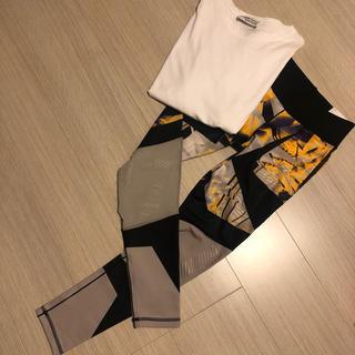 アディダス(adidas)のadidas タイツ Tシャツセット(タイツ/ストッキング)