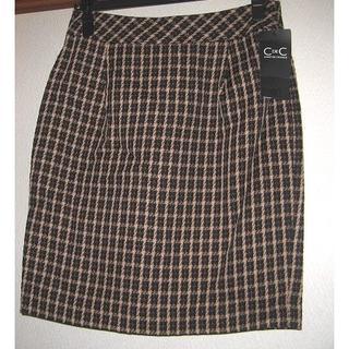 クードシャンス(COUP DE CHANCE)の未使用タグ付C DeC クードシャンスのスカート(ミニスカート)