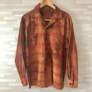 ワコマリア(WACKO MARIA)のオープンカラーシャツ ネルシャツ(シャツ)