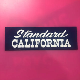 STANDARD CALIFORNIA - スタンダードカリフォルニア ステッカー