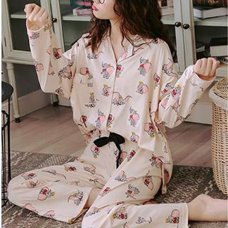ジェラートピケ(gelato pique)の☆新品未使用☆韓国ファッション☆ルームウェア☆パジャマ☆ダンボ☆(ルームウェア)