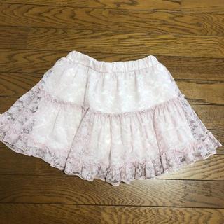 マザウェイズ(motherways)のインナーパンツ 付き レース スカート マザウェイズ 150cm(スカート)