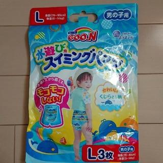 水遊び用スイミングパンツ(L)2枚。(水着)