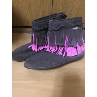 アディダス(adidas)のadidas・アディダス・24.5(ブーツ)