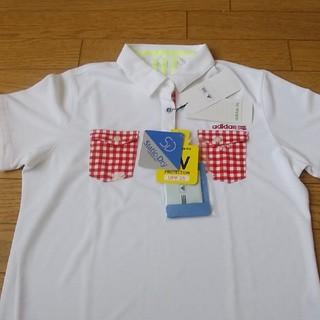 アディダス(adidas)のアディダス レディース ゴルフシャツ LLサイズ(ポロシャツ)