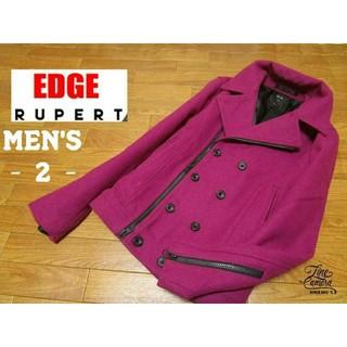 ルパート(RUPERT)のメンズ2 ◇EDGE RUPERT◇ ウールライダースジャケット(ライダースジャケット)