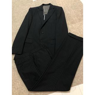 スーツカンパニー(THE SUIT COMPANY)の美品!スーツ ブラックストライプ(セットアップ)