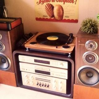 RECORD PLAYER レコードプレーヤー(ターンテーブル)