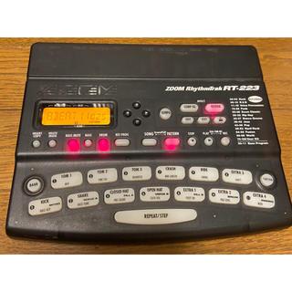 ズーム(Zoom)のzoom リズムマシン ドラムマシン rt-223(電子ドラム)