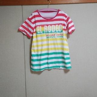 エルロデオ(EL RODEO)の売切特価クーポン限定saleエルロデオ ELRODEO Tシャツ(Tシャツ(半袖/袖なし))