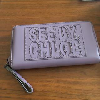 シーバイクロエ(SEE BY CHLOE)のシーバイクロエ 長財布(財布)