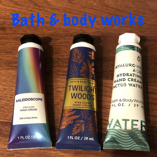 Bath & Body Works(バスアンドボディーワークス)の✨Bath&body works✨ ハンドクリーム3個セット コスメ/美容のボディケア(ハンドクリーム)の商品写真