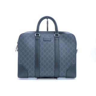 グッチ(Gucci)の《GUCCI/GGスプリーム ブリーフケース》474135 極美品 ブラック(ビジネスバッグ)