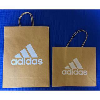 アディダス(adidas)のadidas アディダス 紙袋 ショッパー(ショップ袋)