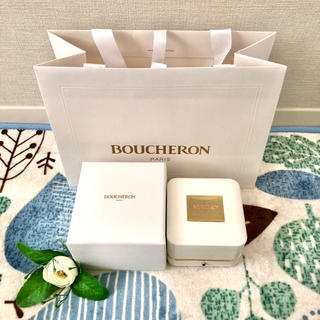 ブシュロン(BOUCHERON)の【✧新品✧】BOUCHERON ブシュロン リングケース 指輪 ショッパー 紙袋(リング(指輪))