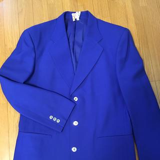 クロードモンタナ(Claude Montana)のmontana ブルー ジャケット 美品(テーラードジャケット)
