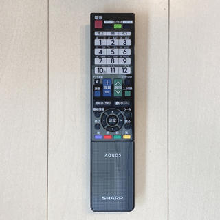 アクオス(AQUOS)のシャープ 液晶テレビ 純正リモコン GB069WJSA(その他)