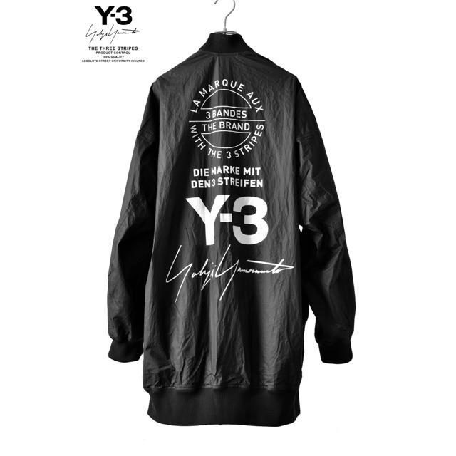Y-3(ワイスリー)のリバーシブルボンバーブルゾン メンズのジャケット/アウター(ナイロンジャケット)の商品写真