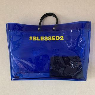 ディースクエアード(DSQUARED2)の新品 ディースクエアード クリア バッグ ポーチ付き 送料無料 (トートバッグ)