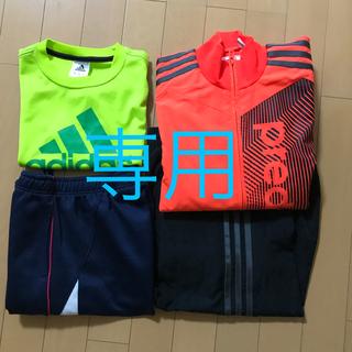 アディダス(adidas)のadidas ランニング ジュニア150  イエローグリーン(Tシャツ/カットソー)