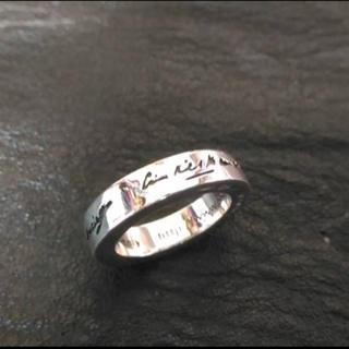 バレンシアガ(Balenciaga)のBALENCIAGA URLリング シルバー925 シルバーリング 指輪 美品(リング(指輪))