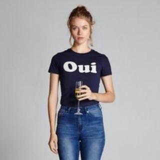 ベリーブレイン(Verybrain)のレコルドファム oui T-Shirts・Fifi 小花柄シルクスカーフ(Tシャツ(半袖/袖なし))